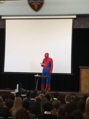 Spider-Man's Presentation